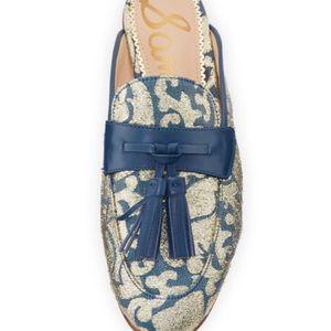6d0d930dc5ab2 Sam Edelman Shoes - Sam Edelman Paris Jacquard Tassel Mule Loafers